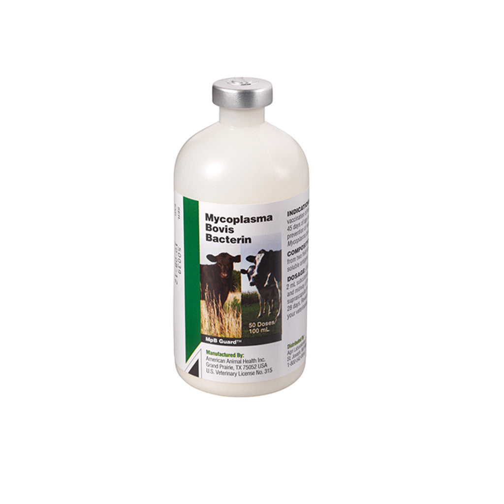 AgriLabs MpB Guard Cattle Vaccine 50 dose