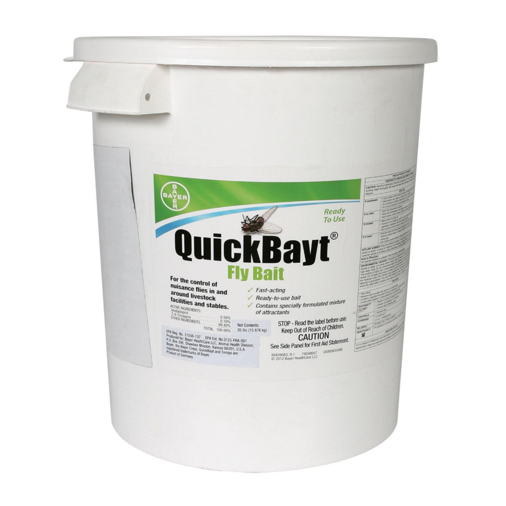 Bayer QuickBayt Fly Bait 35 lb
