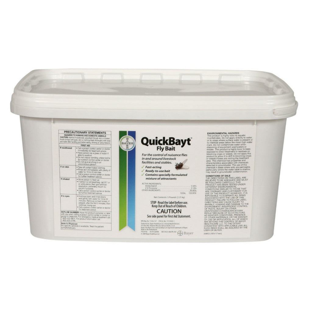 Bayer QuickBayt Fly Bait 5 lb