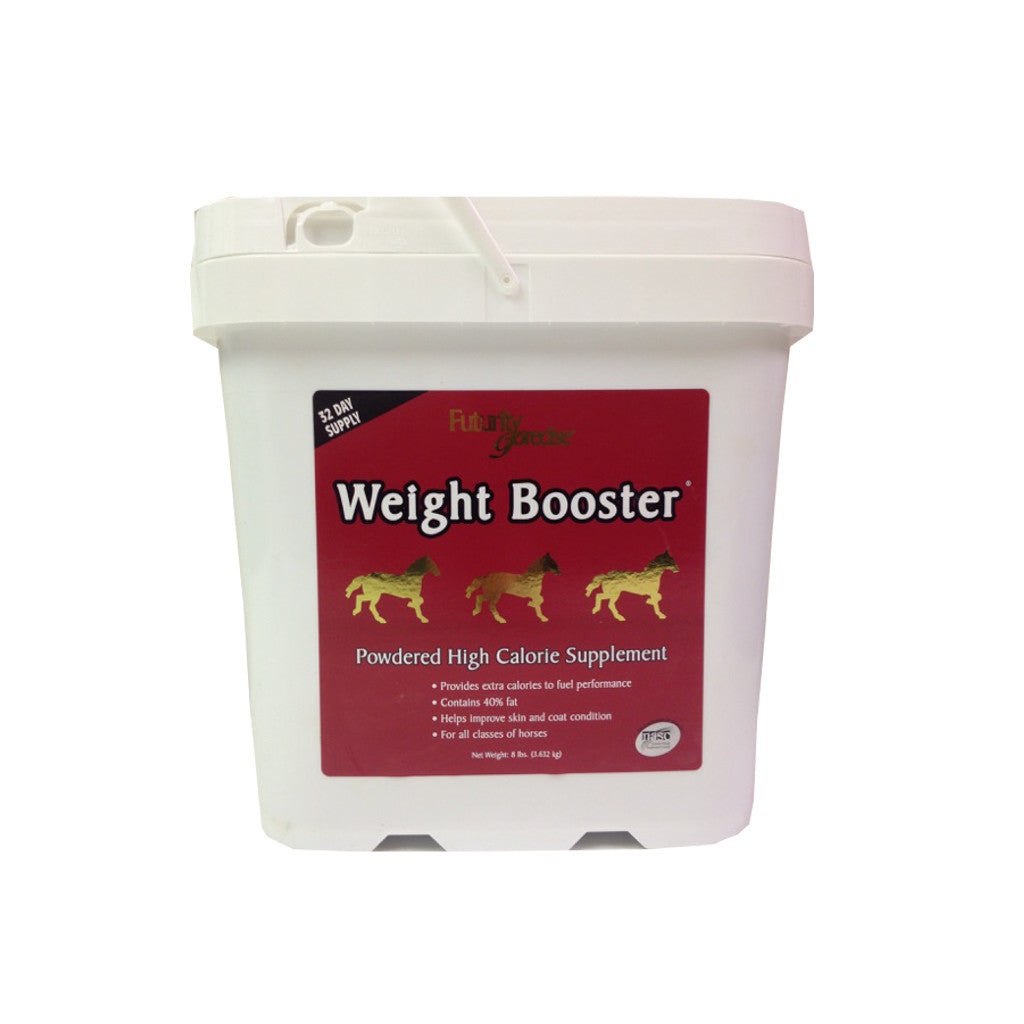 Futurity Precise Weight Booster supplement for horses