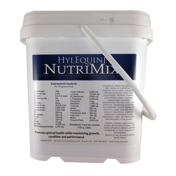 HylEquine NutriMix Natural Horse Supplement