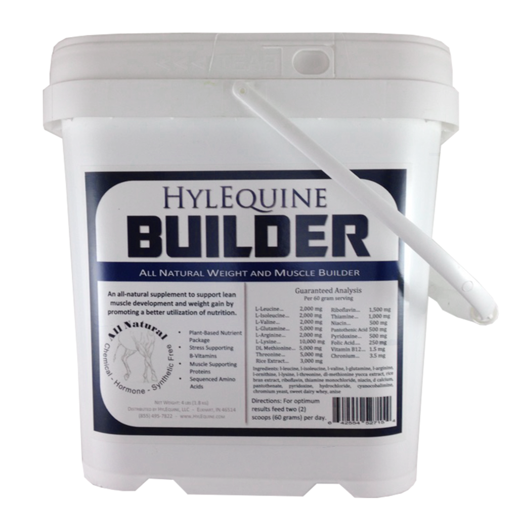 Weight & Muscle HylEquine Horse Supplement