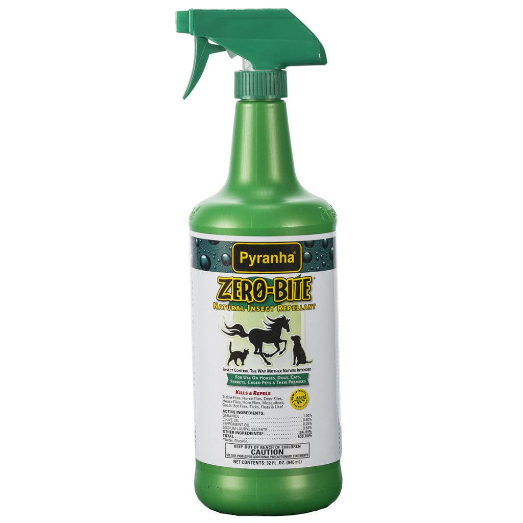Pyranha Natural Zero Bite Fly Spray