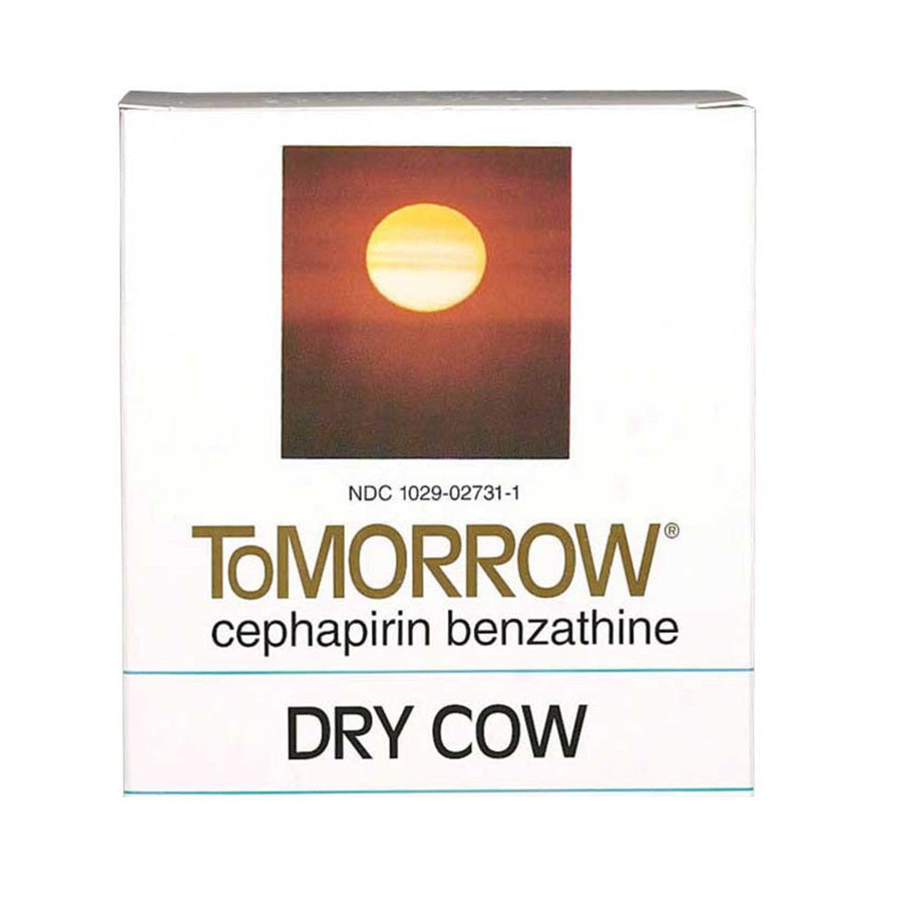 ToMORROW Dry Cow Mastitis Treatment