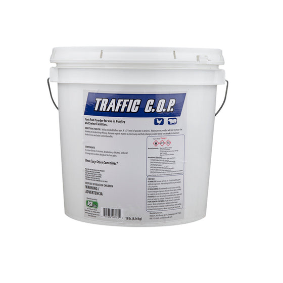Foot Pan Powder Disinfectant Traffic COP