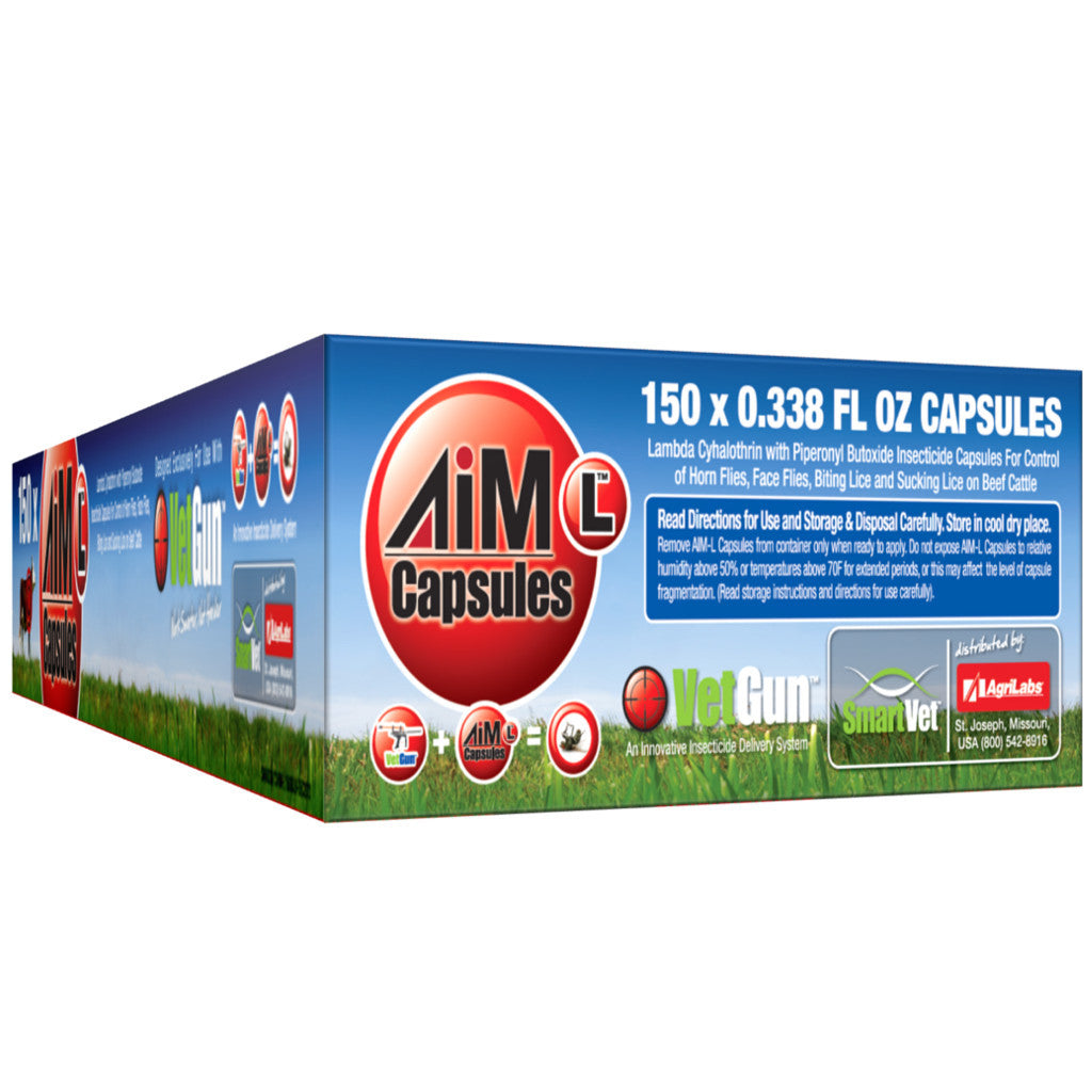 VetGun Delivery AiM-L Capsule Insecticide 150ct