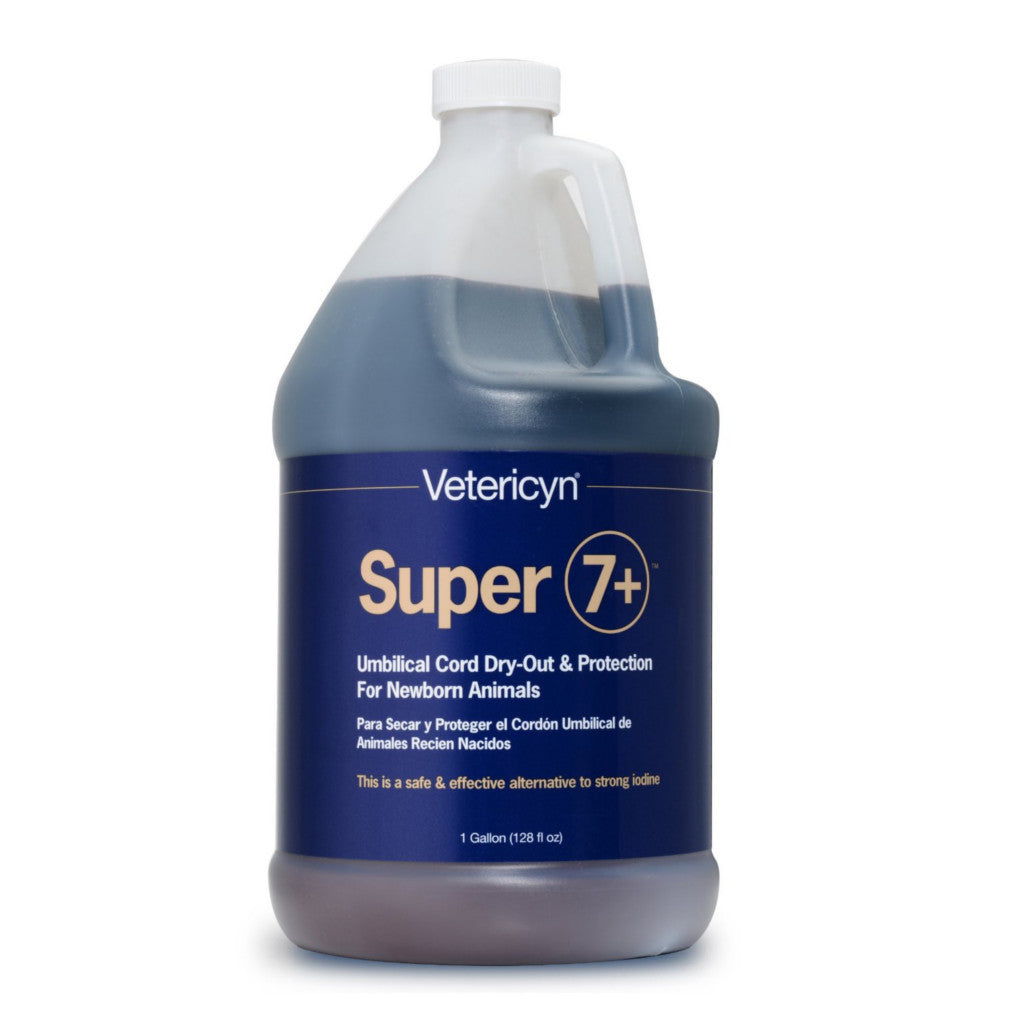 Vetericyn Super 7+ Naval Dip for Newborn Gallon
