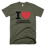 I Love Pointless Formations Shirt