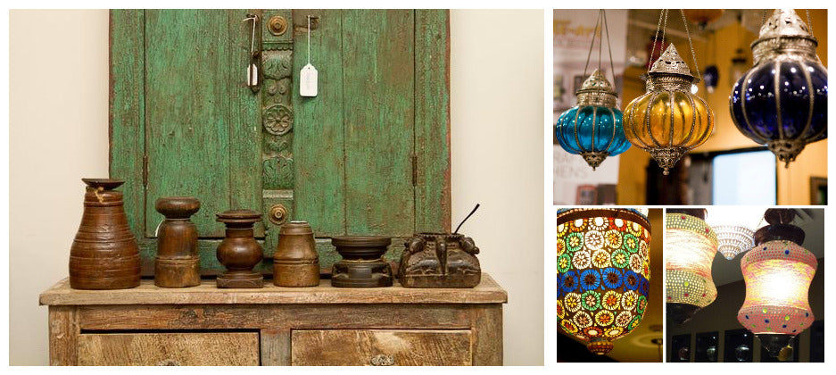 Handcrafted solid wood furniture & home accents from India