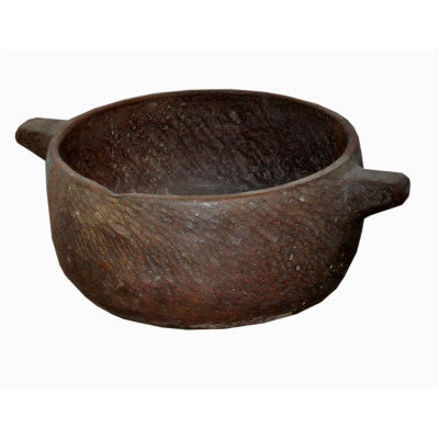 Stone bowl , Traditional Indian or Rajasthani style home decor  & solid wood furniture.
