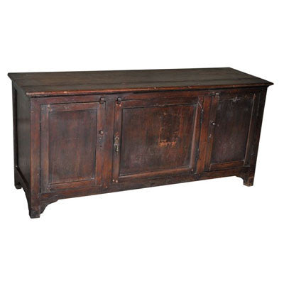 Antique solid wood TV stand or a storage cabinet.