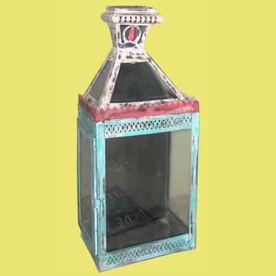 Sheet metal hand crafted wall scone for candle , Traditional Indian or Rajasthani style home decor  & solid wood furniture.