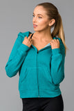 Active Fleece Zip Hood