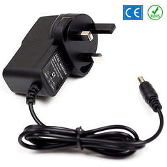 12v DC Power Supply For Yamaha PSS-470 Keyboard Adaptor Plug PSU UK Lead 1A