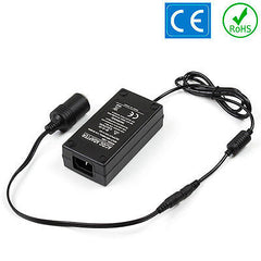 Car Cigarette Lighter Power Adapter 12V DC 240V 60W 5A Mains Voltage Converter