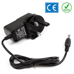 Casio LK-100 Keyboard Power Supply PSU Replacement Adapter UK 9V DC 1A