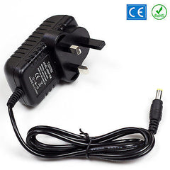 Numark WS32 Wireless Microphone Replacement 12v DC Power Supply Adaptor Plug PSU UK Lead 2A