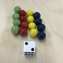 Load image into Gallery viewer, Game Marbles w/ Die