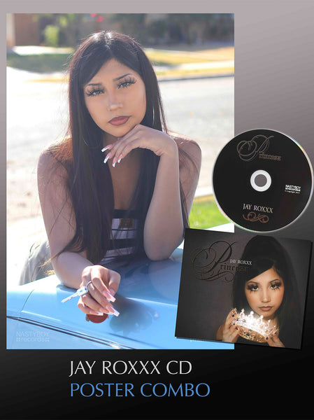 JAY ROXXX CD with Signed Poster Fan Pack