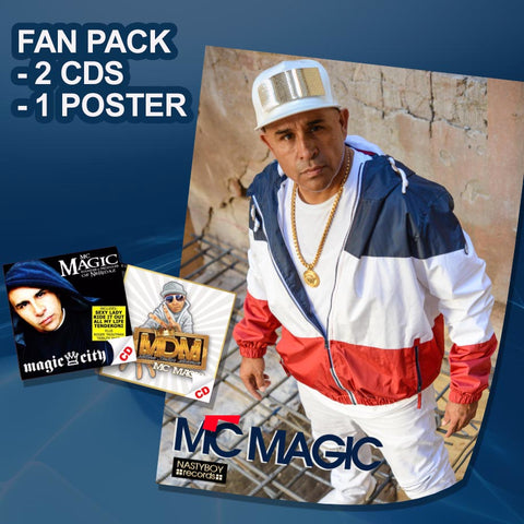 FAN PAK  Choose A Poster & Two CDs