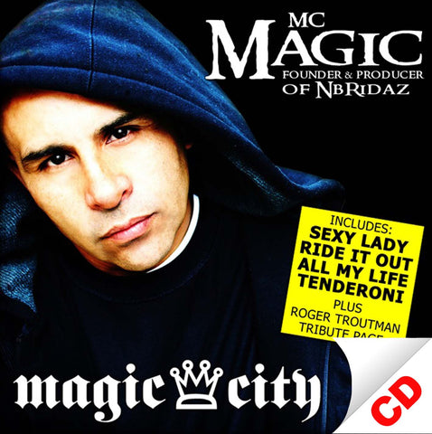 Magic City by MC MAGIC (CD)