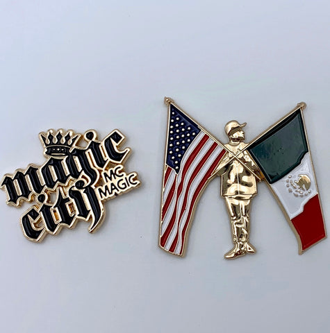 MC Magic Collector Pin Set (includes both)
