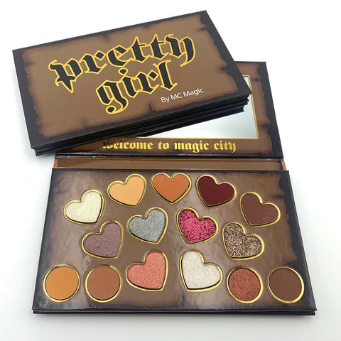 PreOrder PRETTY GIRL Palette by MC Magic (shipping Nov.16)