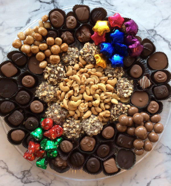 Christmas Tray with Nuts