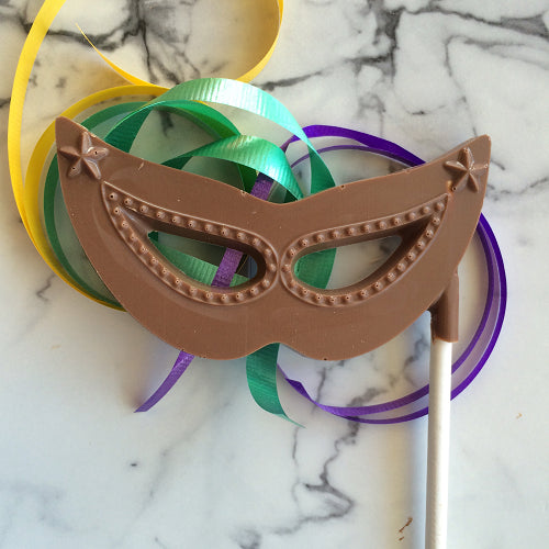 Chocolate Mask on stick