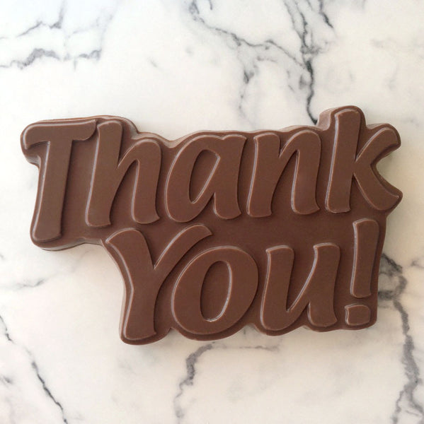 Thank You Solid Chocolate Bar