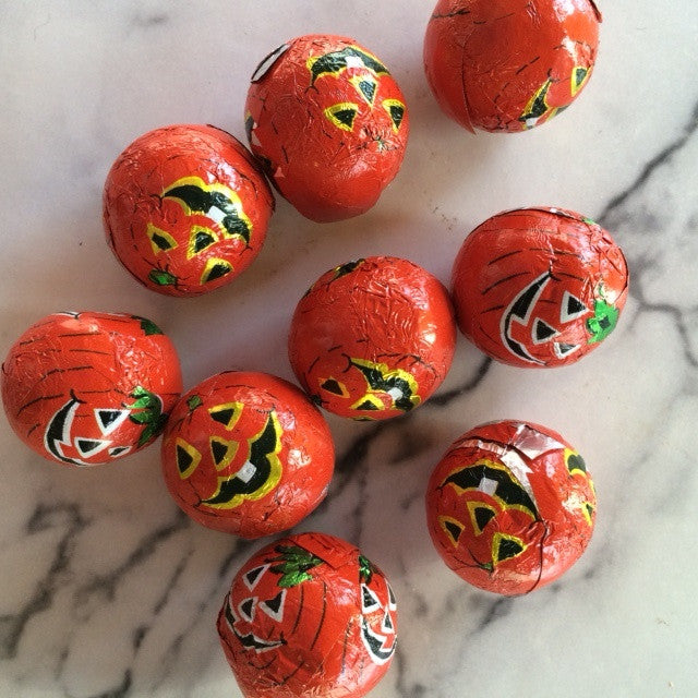 Milk Chocolate Crispy Pumpkins