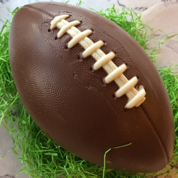 Lifesize chocolate football