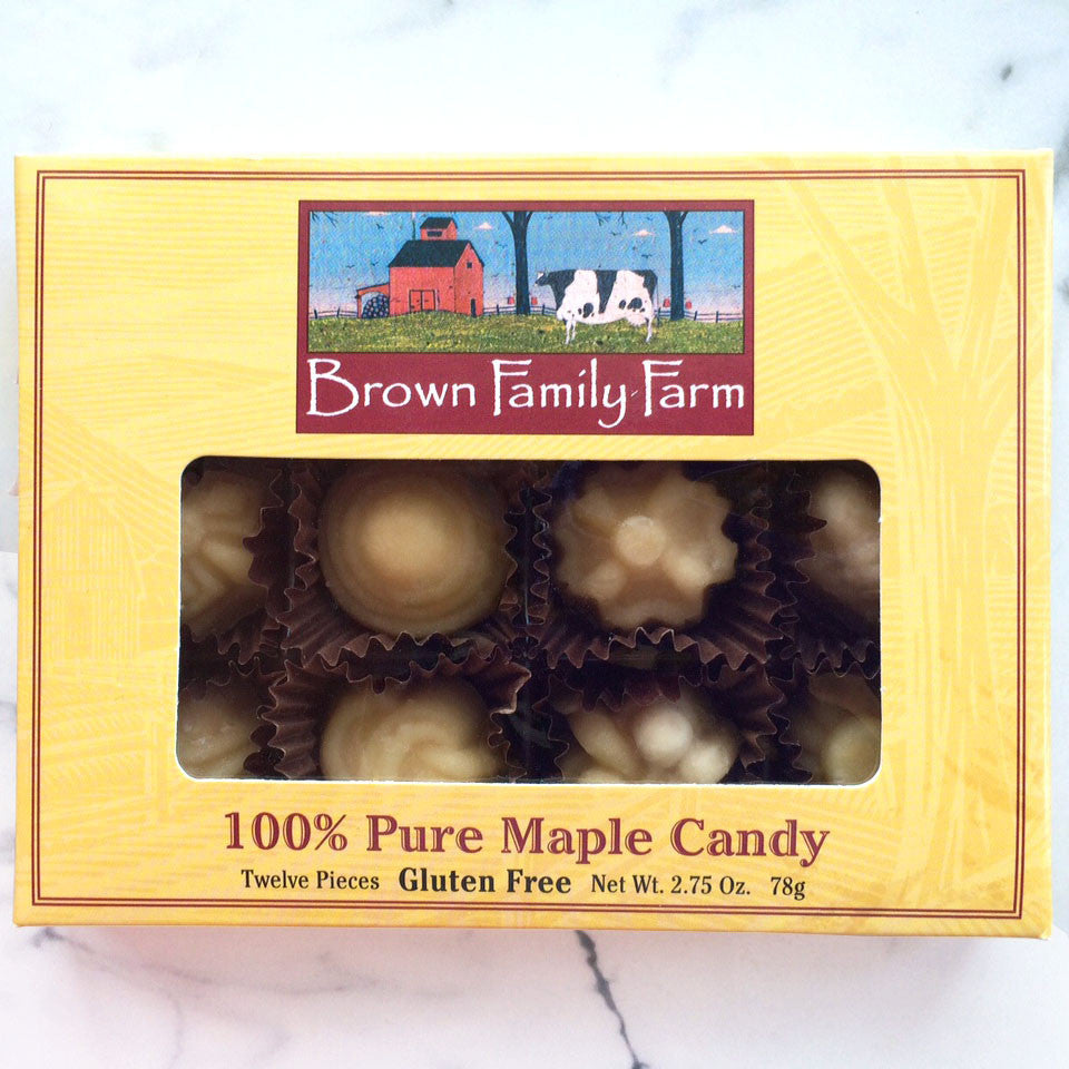 Maple Candy 12 Piece