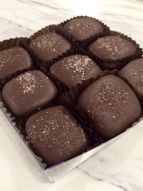 Sea Salt Caramels 9 Piece