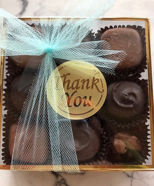 Thank You chocolate sampler
