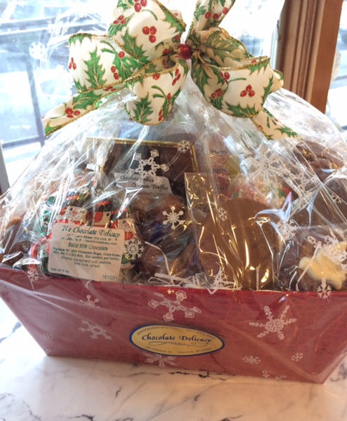 Christmas Collection Large Basket