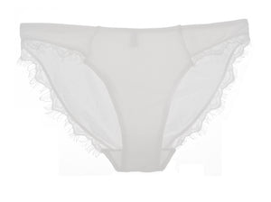 LACE AND COTTON BRIEF