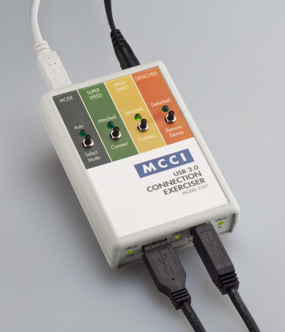 MCCI® USB 3.0 Connection Exerciser