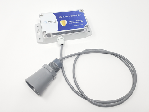 Wireless Ultrasonic Level Sensor (Outdoor/Industrial Version)