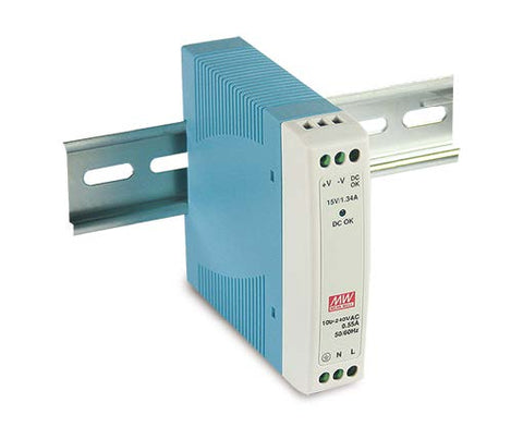 DIN-Rail Power Supply for Model 4811