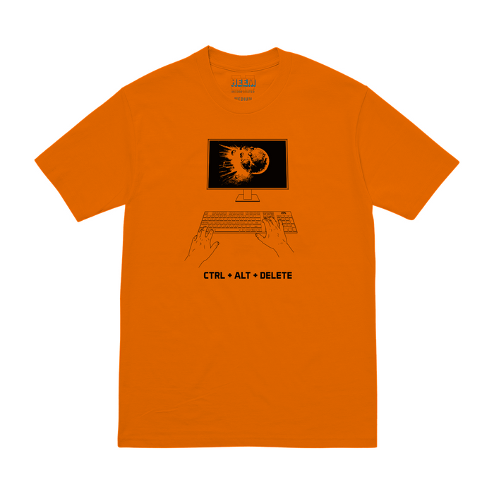 QUITTERS TEE<br>(SAFETY ORN)