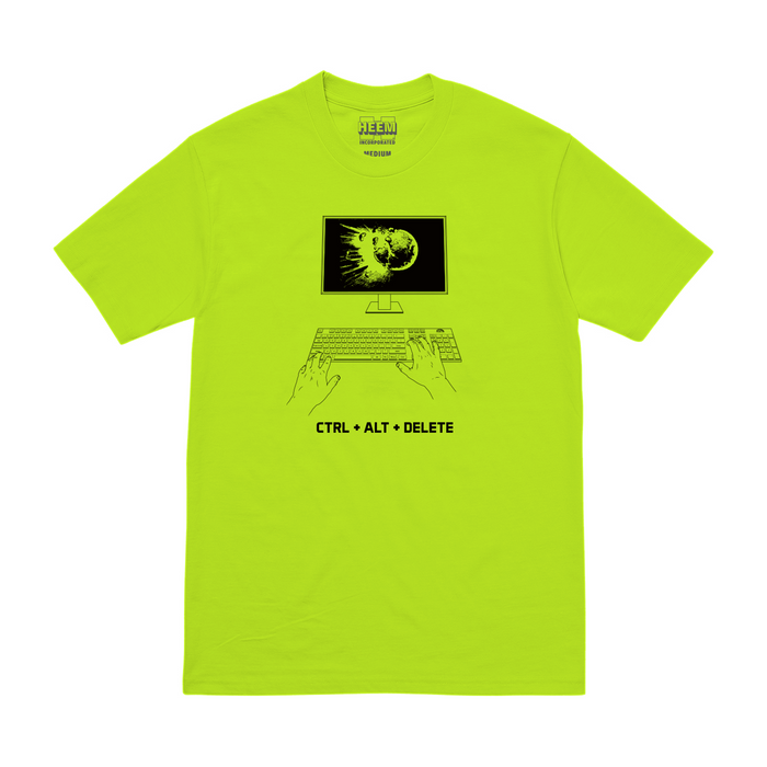 QUITTERS TEE (SAFETY)