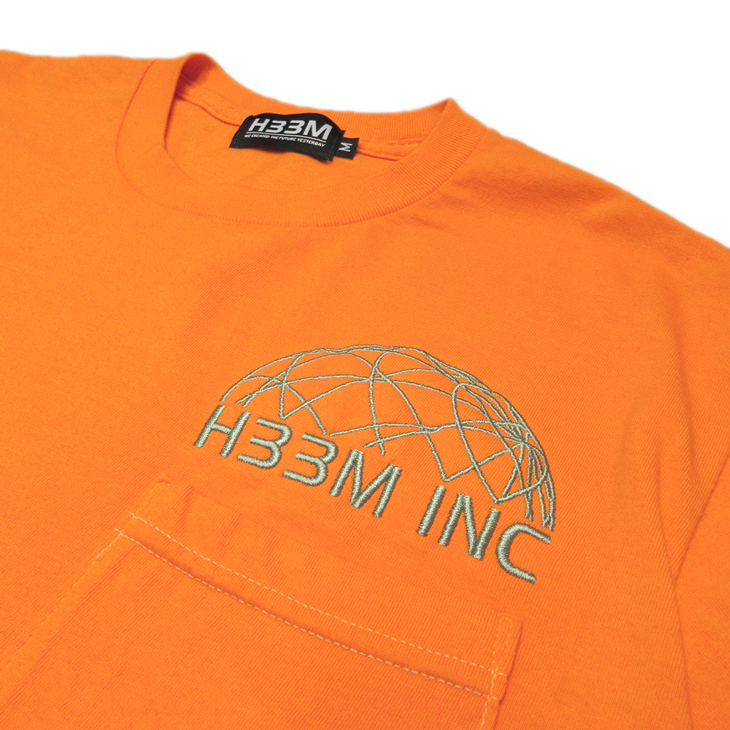 CLASSIC LOGO POCKET TEE (TANGERINE DREAM)