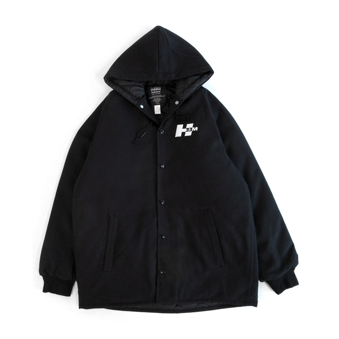 JOBSITE HEAVYWEIGHT CANVAS JACKET (BLACK)