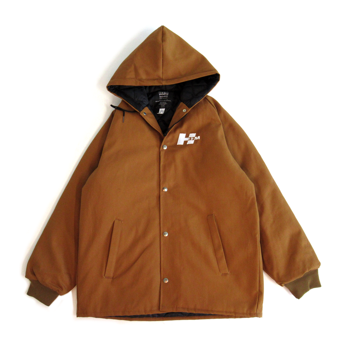 JOBSITE HEAVYWEIGHT CANVAS JACKET (BROWN)