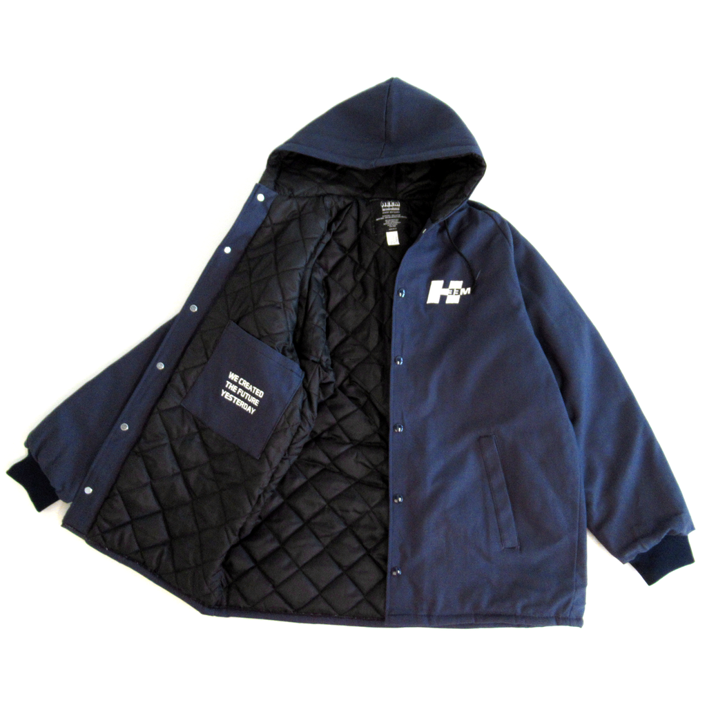 JOBSITE HEAVYWEIGHT CANVAS JACKET (NAVY)