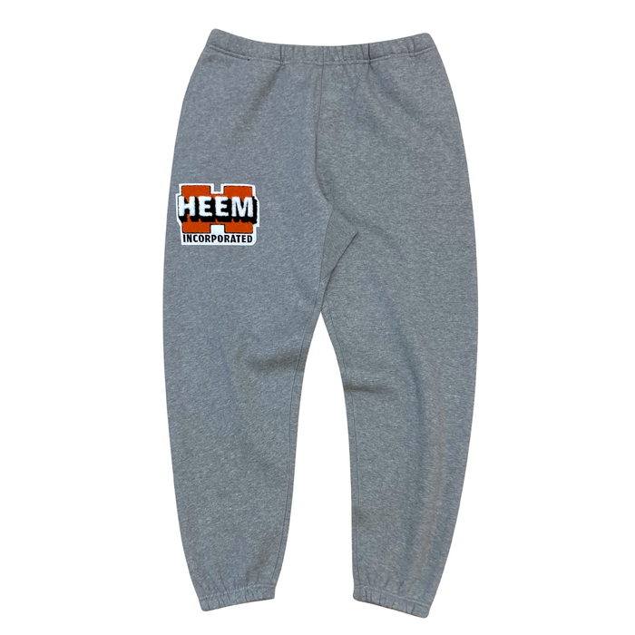 WORK LOGO CHENILLE SWEATS (HEATHER)