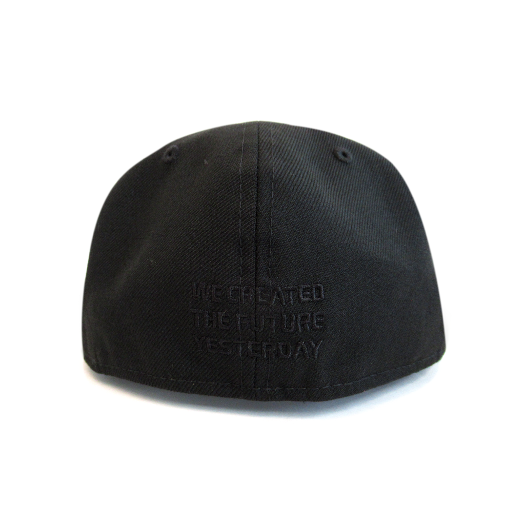SLANT LOGO NEW ERA 59FIFTY (BLACK)