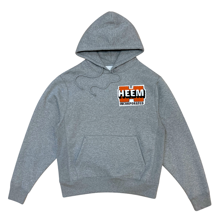 WORK LOGO CHENILLE PULLOVER (HEATHER)