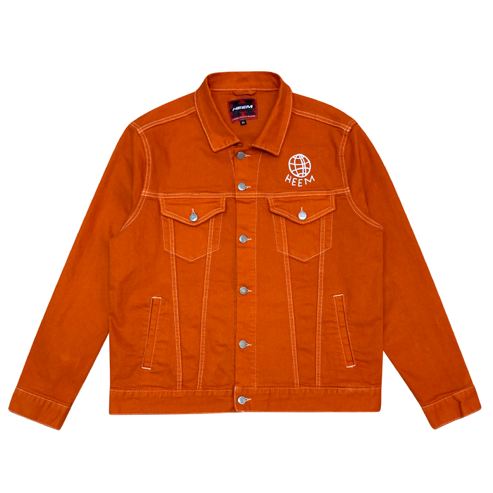 ORANGE LABEL DENIM JACKET (PUFFIN'S BILL)